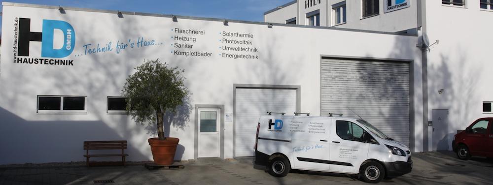 Werkstattgebäude der HD-Haustechnik GmbH, Wannweil