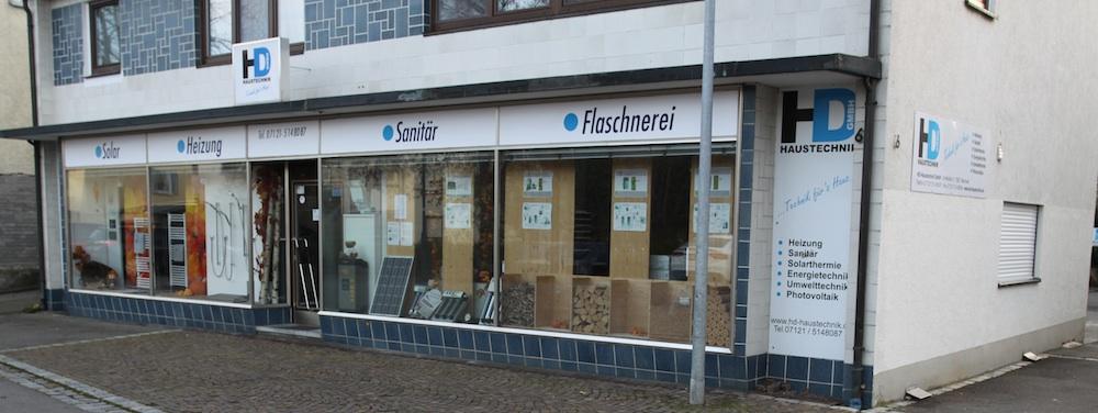 Büro und Ausstellung HD-Haustechnik GmbH, Wannweil